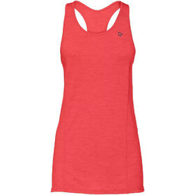 Norrøna Wool Tri Top Singlet Dames, crisp ruby